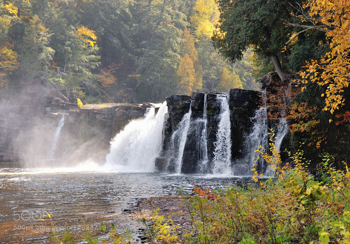 Photograph Manabezho Falls  Presque Isle river,  Porcupine Mountains State Park by John McCormick on 500px