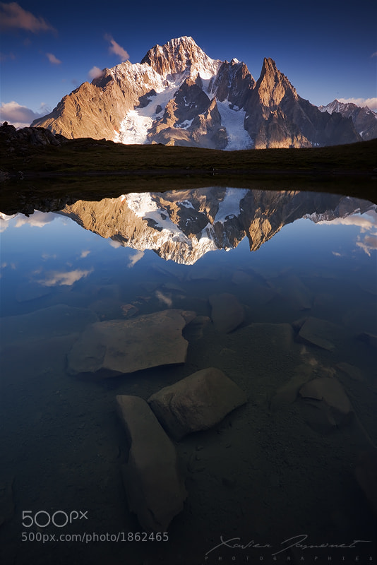 Photograph Alpine reflection by Xavier Jamonet on 500px