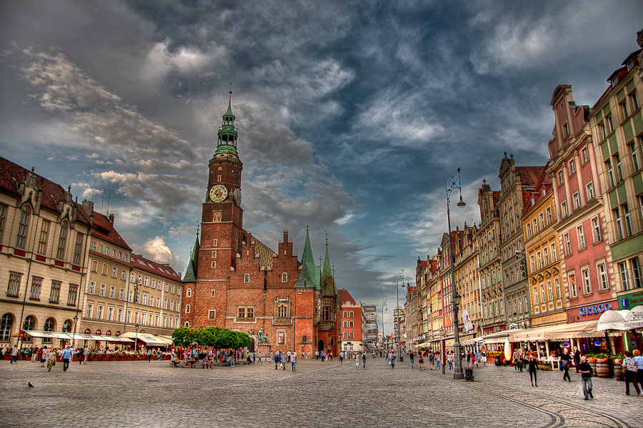 Photograph Old Town by Damian Mekal on 500px