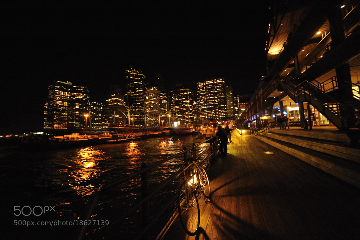Photograph Pier 17 (New York City) by night by Michael FRANCHITTI on 500px
