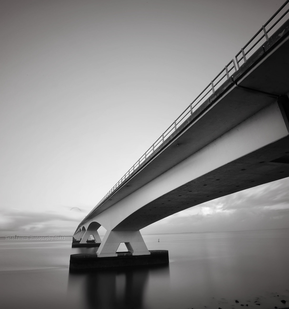 Photograph Zeeland bridge 4 by Nathalie Stravers on 500px