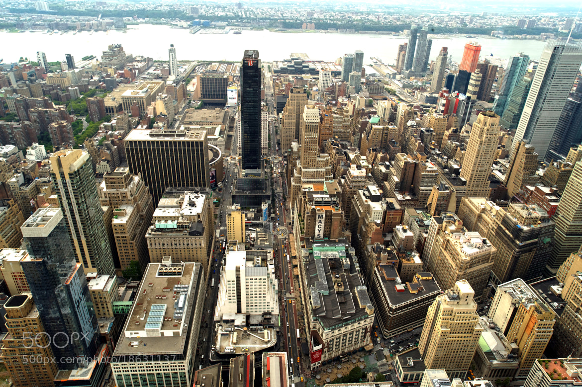 Photograph New-York City view from the ESB by Michael FRANCHITTI on 500px
