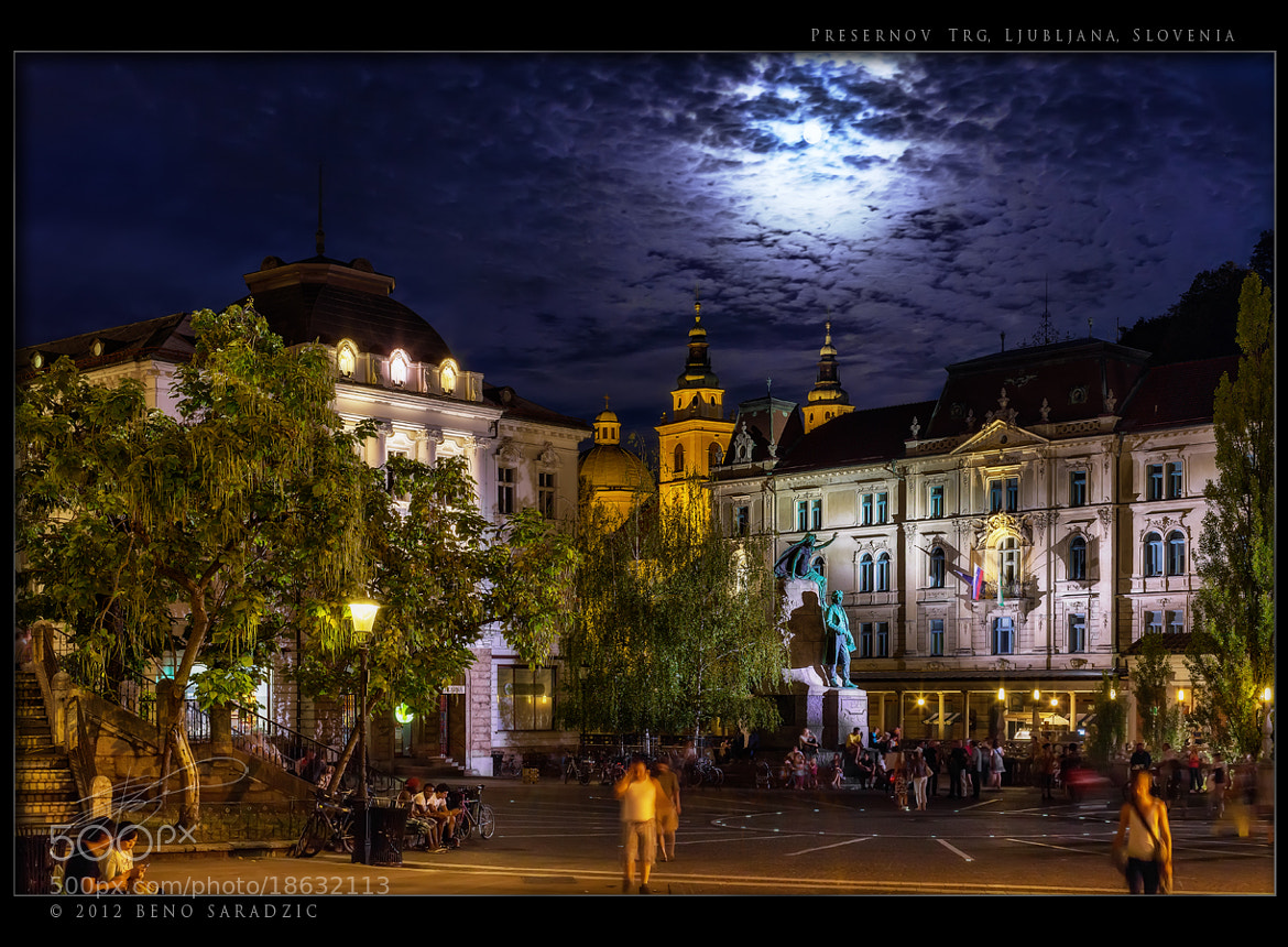 Photograph Preseren Square by Beno Saradzic on 500px