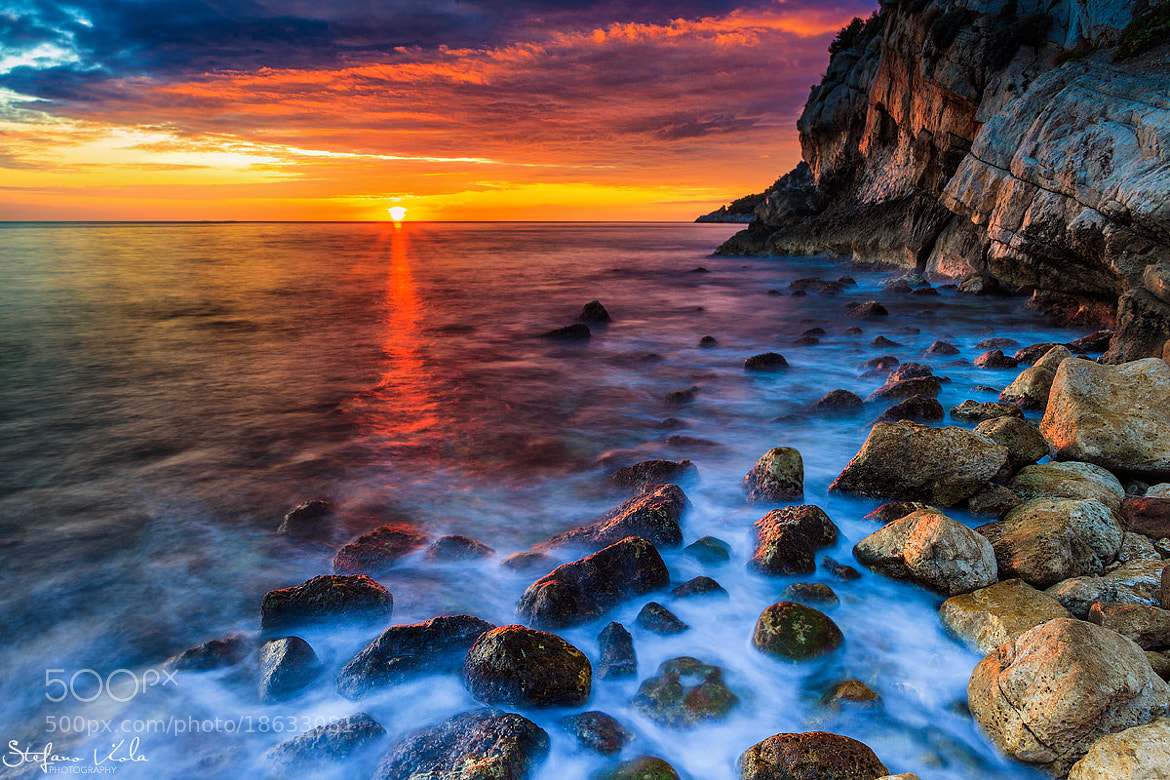 Photograph Burning sunset by Stefano  Viola on 500px