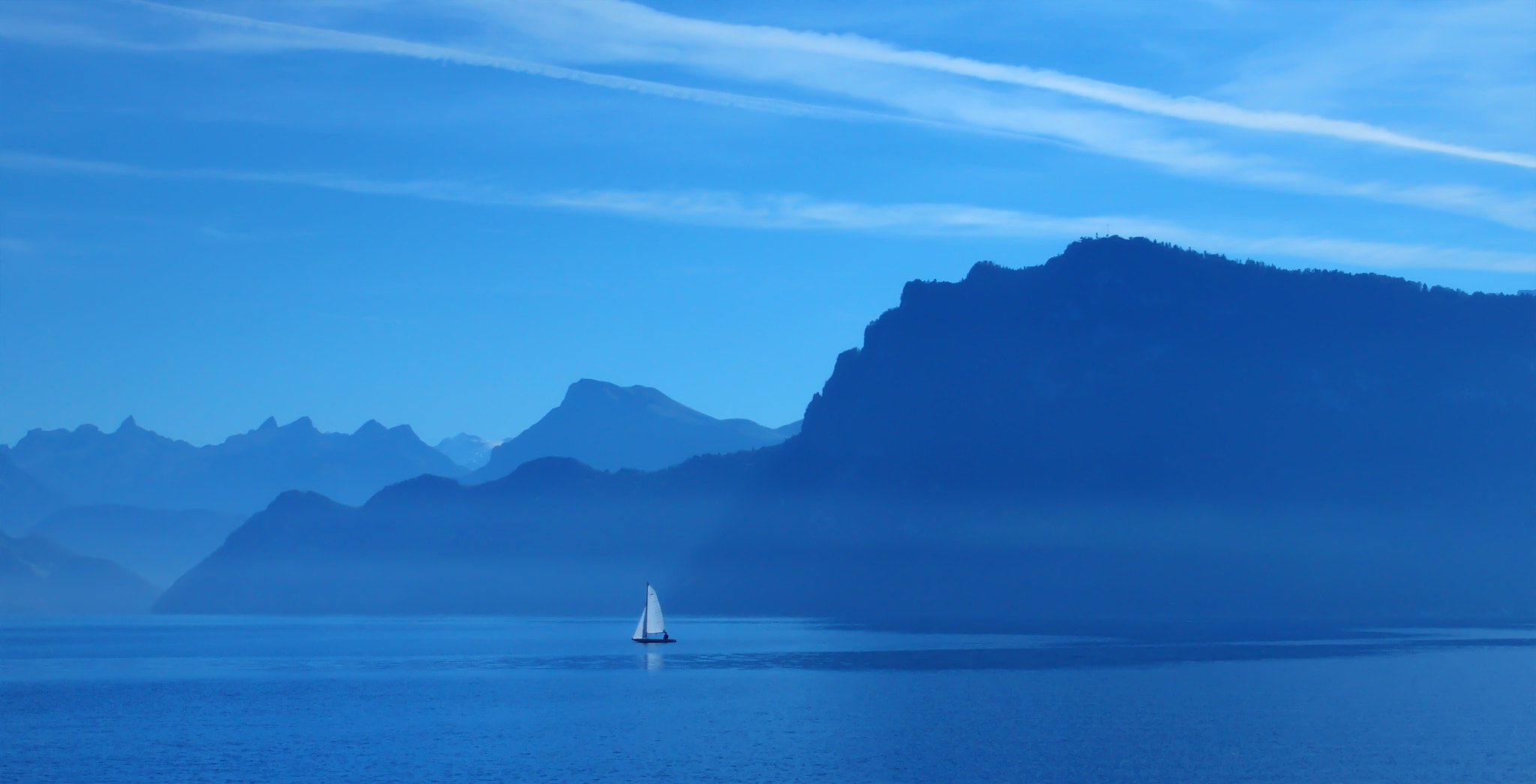 Photograph Lake Lucerne Bürgenstock by Jean-Pierre Perren on 500px