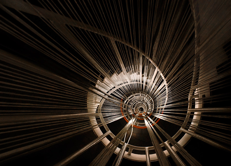Photograph Eye of the spiral staircase by Marcus Bj[Ö]rkman on 500px