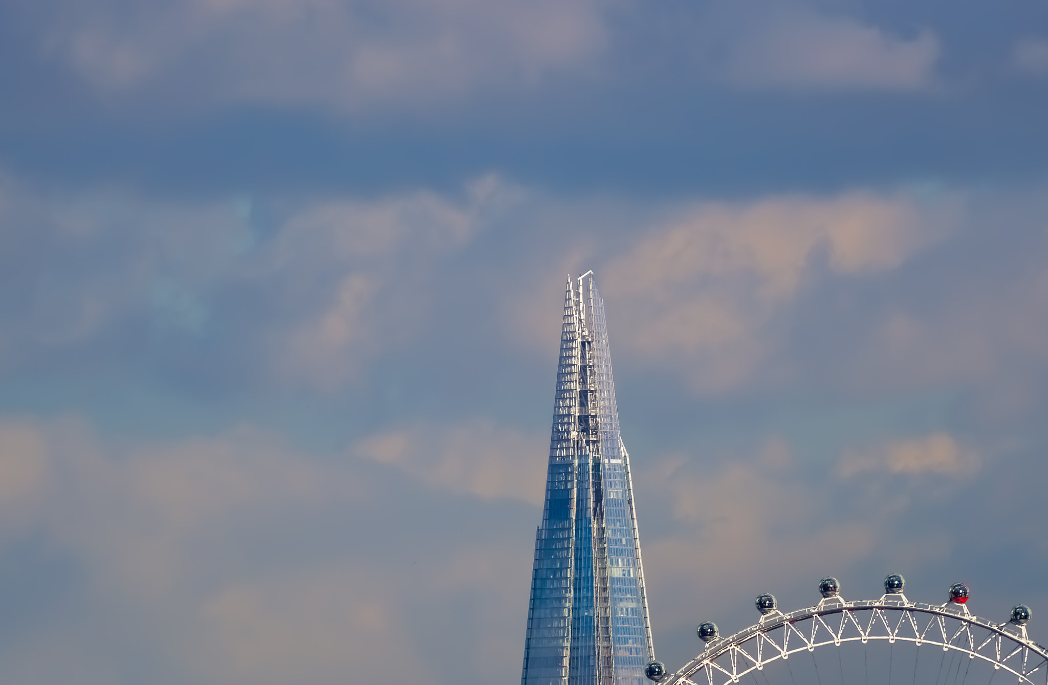 Photograph the shard behind the eye by Dave Putnam on 500px