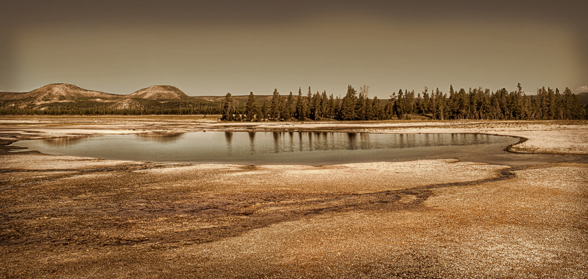 Photograph Yellowstone Spring by Ian McConnell on 500px