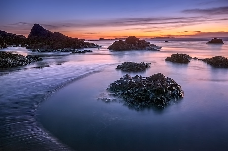 Photograph Tidal Pools at Sunset by Henrik Anker Bjerregaard  Lundh III on 500px