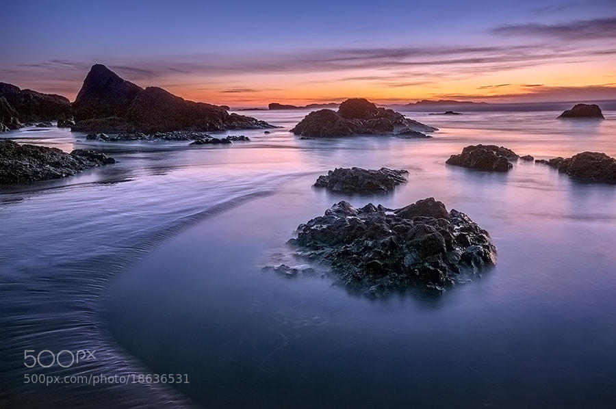 Photograph Tidal Pools at Sunset by Rick Lundh on 500px