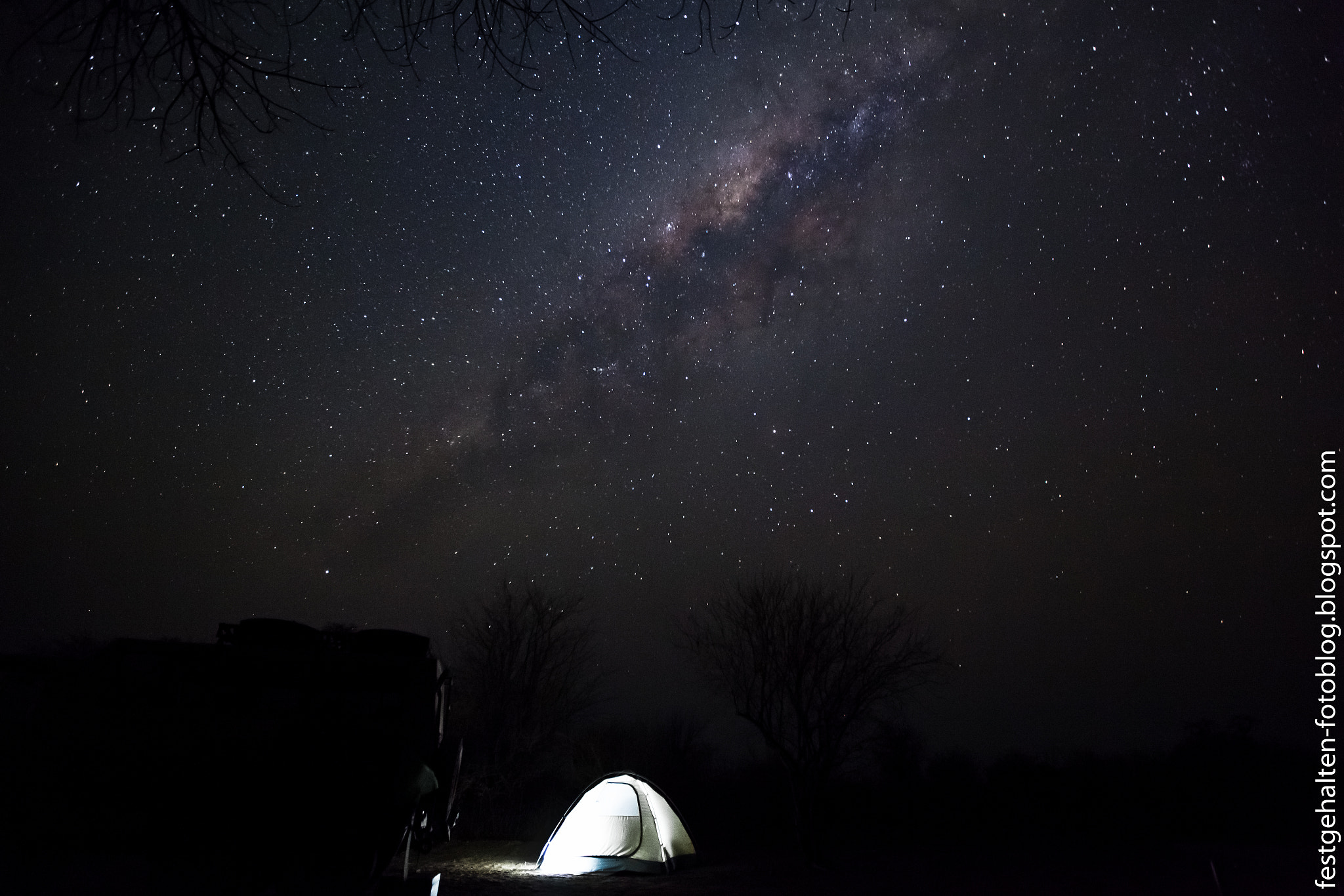 Photograph Starnight in Namibia by Daniel Westphal on 500px