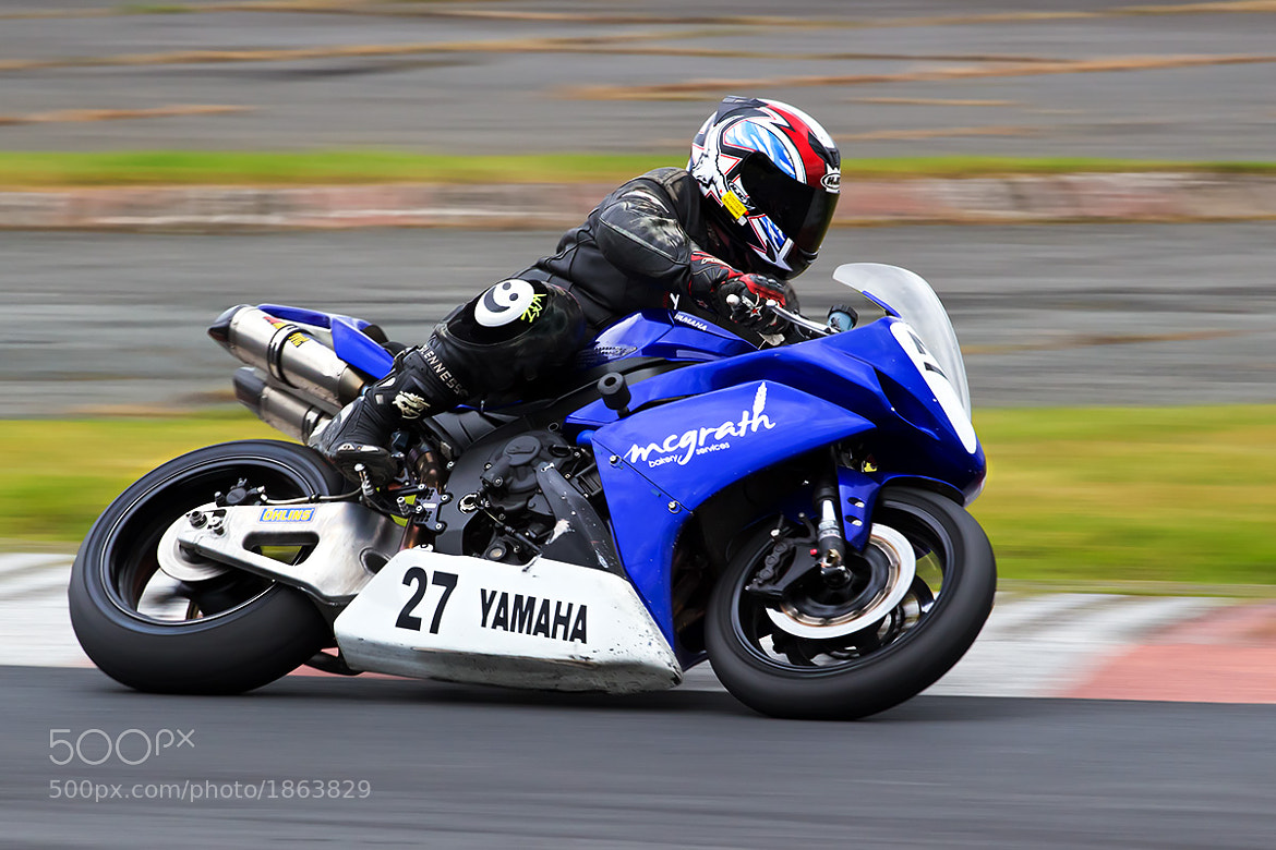 Photograph Kirkistown Clubman rider by Barry Clarke on 500px