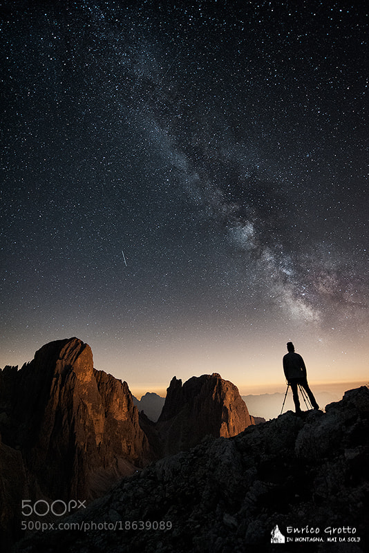 Photograph Lost In The Night | Dolomites by Enrico Grotto on 500px
