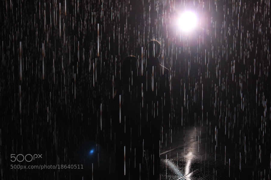 Rain Room, Barbican, London by Alexandre Roty (AlexRoty)) on 500px.com