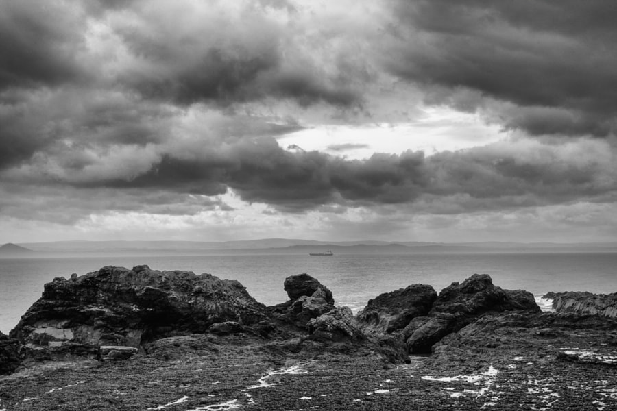 View across the Forth from Fife