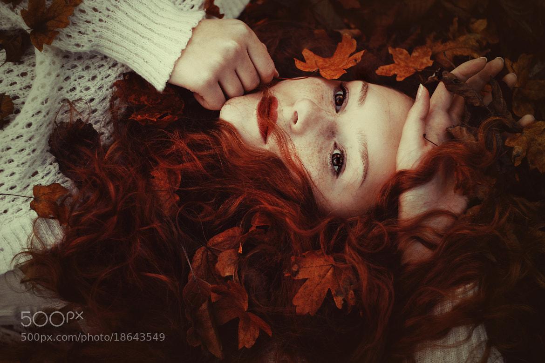Photograph The girl called Autumn by Maja Topčagić on 500px
