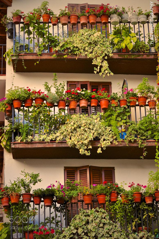 Photograph Balconies by Florencia Azambuja on 500px