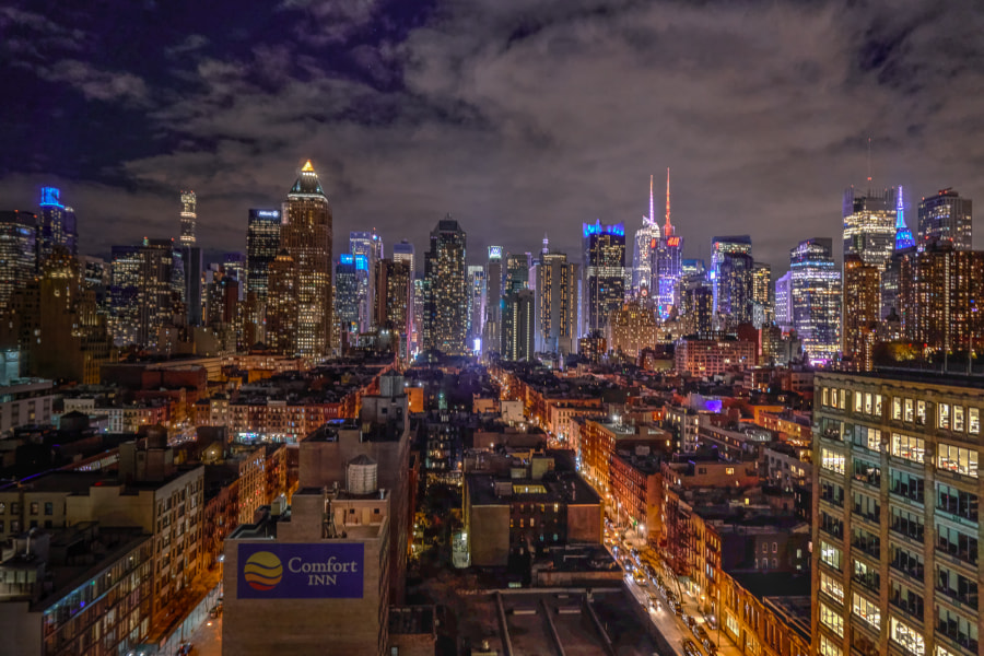 Midtown Manhattan by Mark Hillringhouse on 500px.com