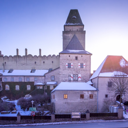 Winterly Burg Heidenreichstein