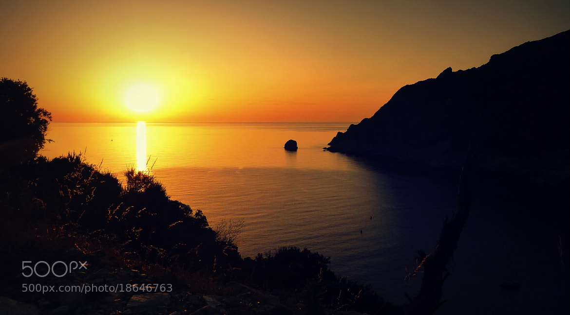 Photograph Coucher de soleil au Cap Corse by Thibaut Regis on 500px