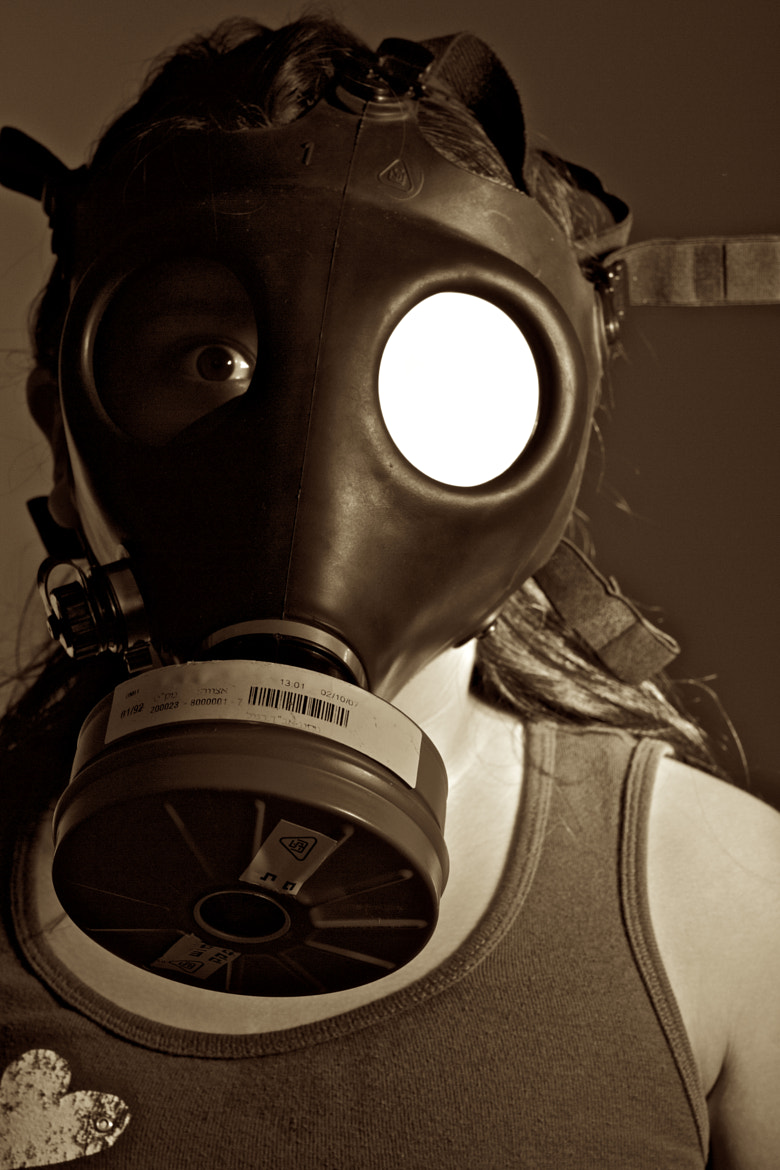 Photograph Little Gas Mask by marc sherwood on 500px