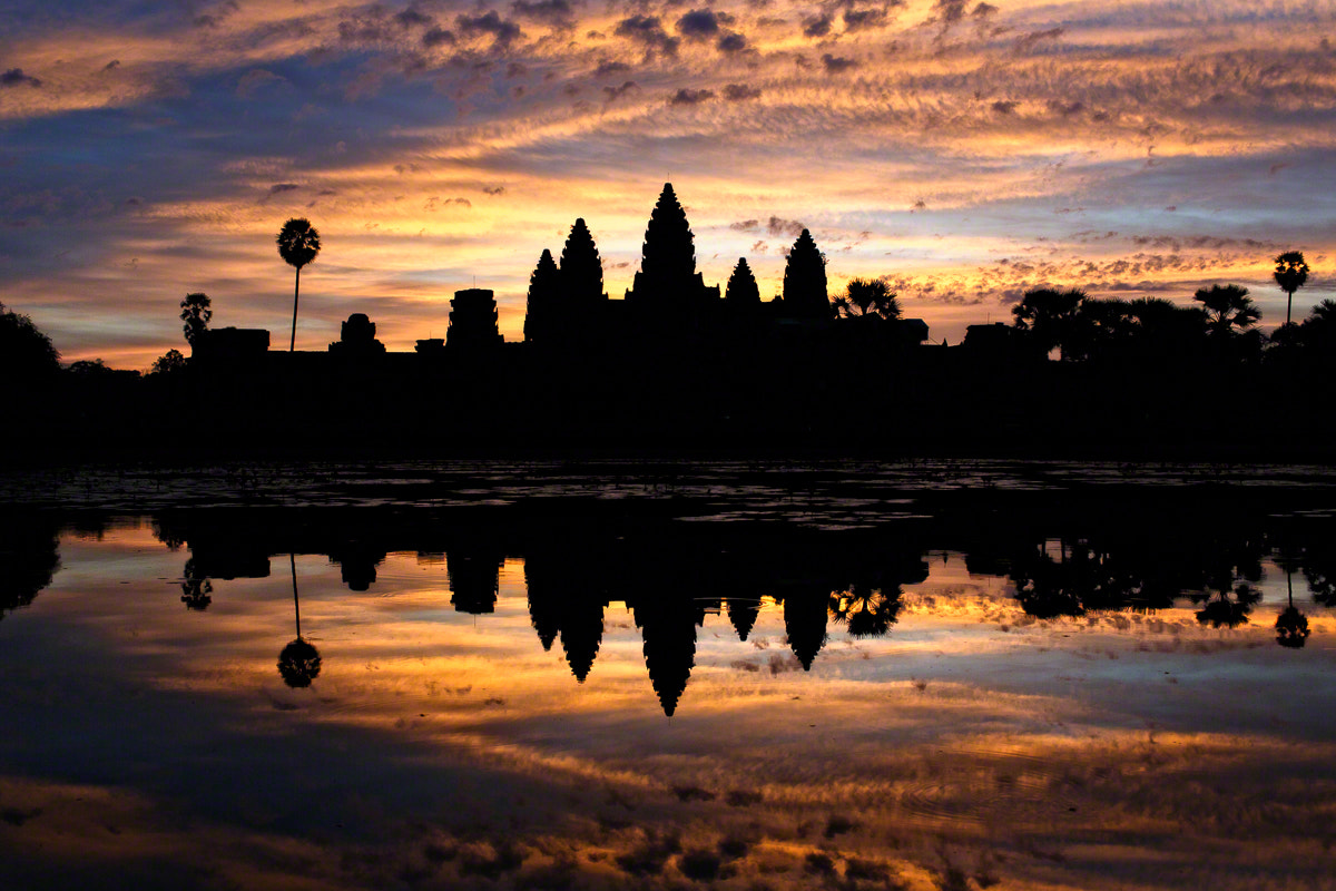 Photograph Sunrise at Angkor Wat by Nicole S. Young on 500px
