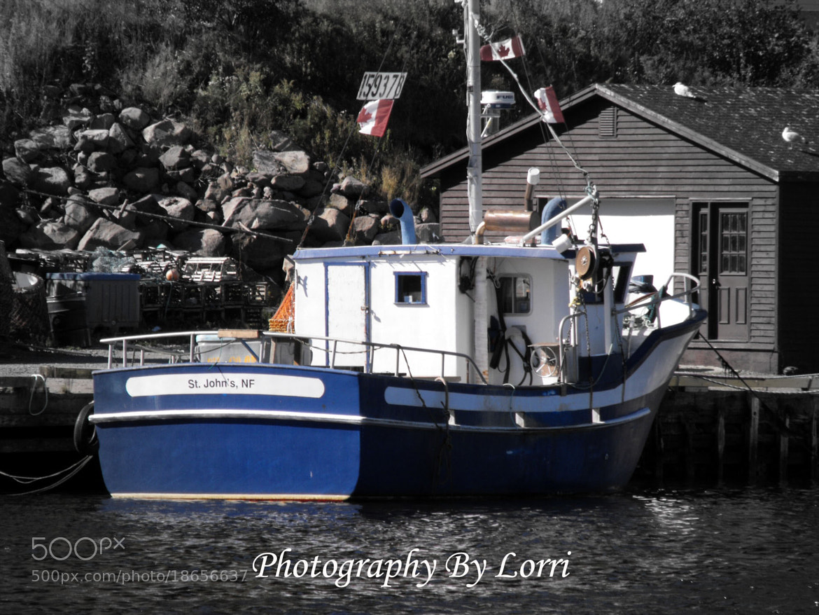 Photograph Fishing Boat by Lorri Berg on 500px