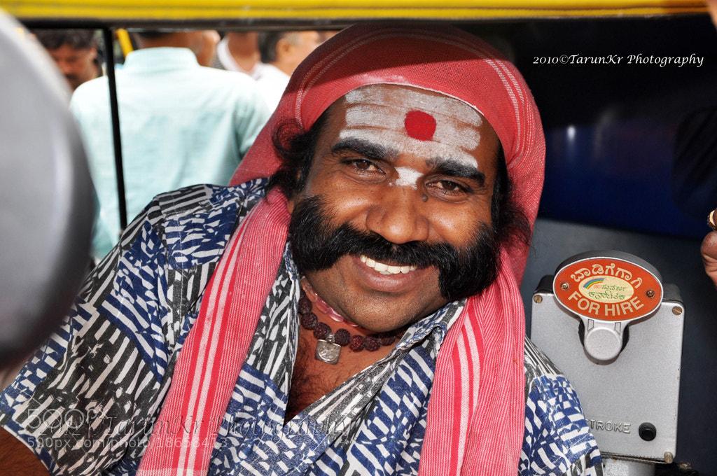 Photograph Auto Rickshaw Driver by Tarun Kumar Bhattacharya on 500px