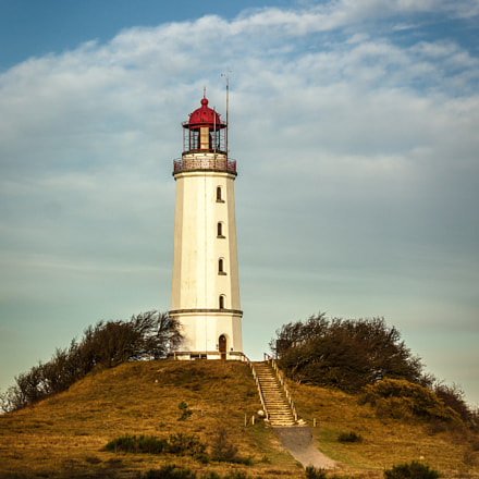 Lighthouse Hiddensee Germany