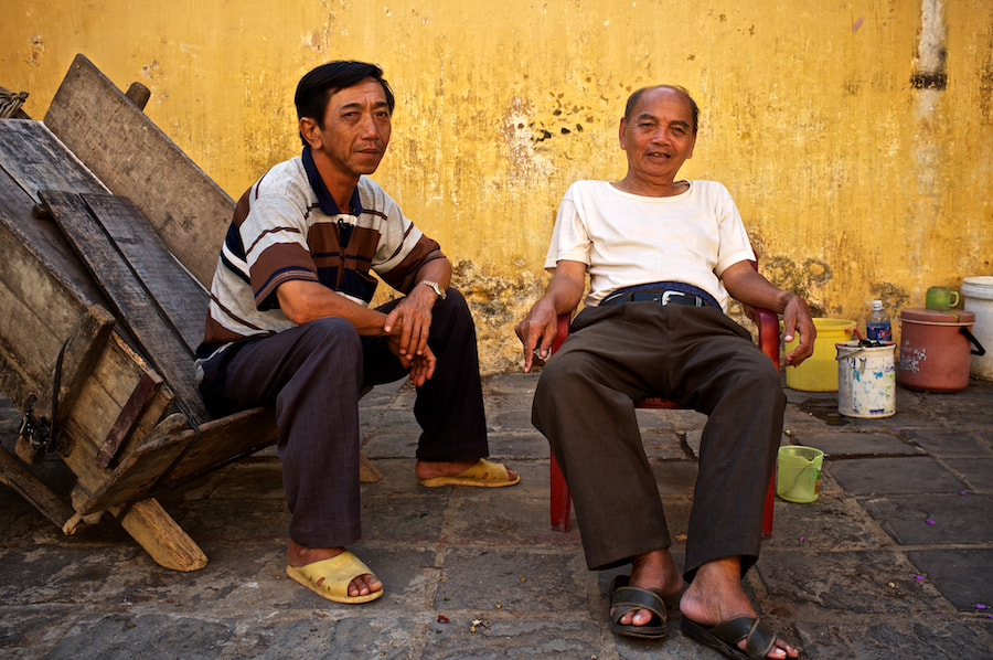 Photograph Hoi An Men by Gary Radler Photography on 500px