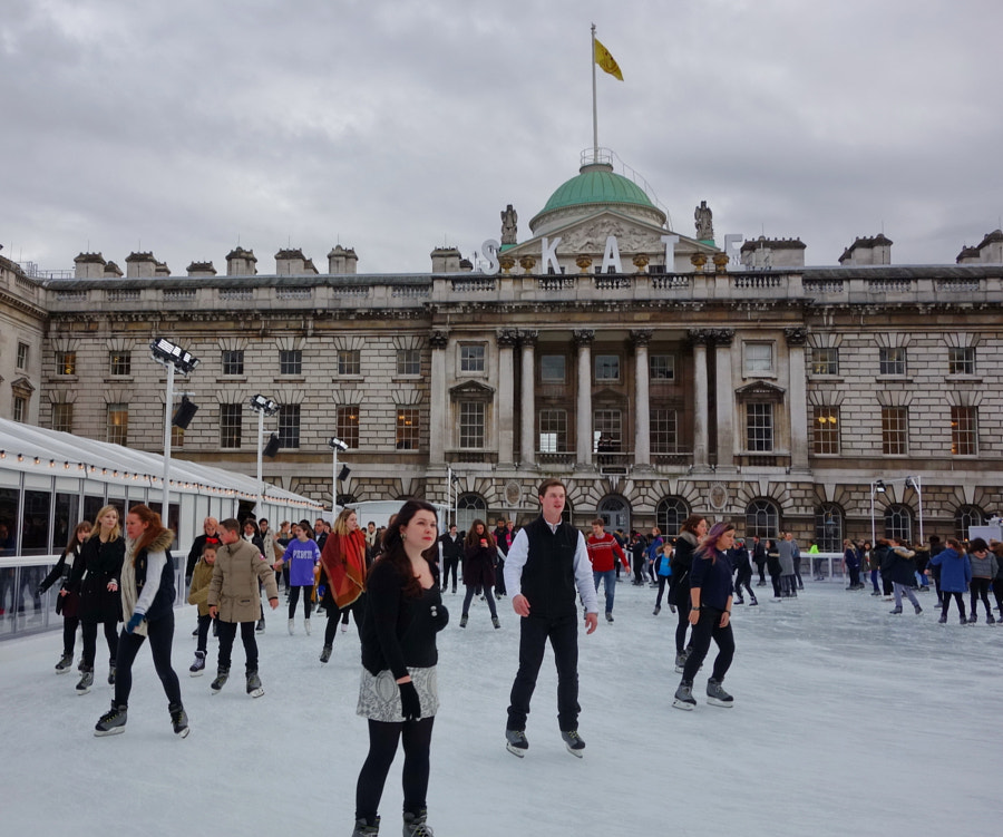 Christmas at Somerset House, London by Sandra on 500px.com