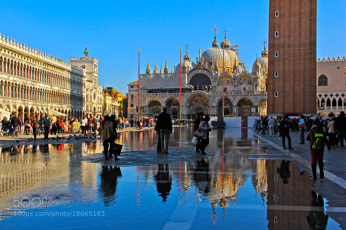 Photograph St. Mark's Basilica.Venice by Poh Huay Suen on 500px
