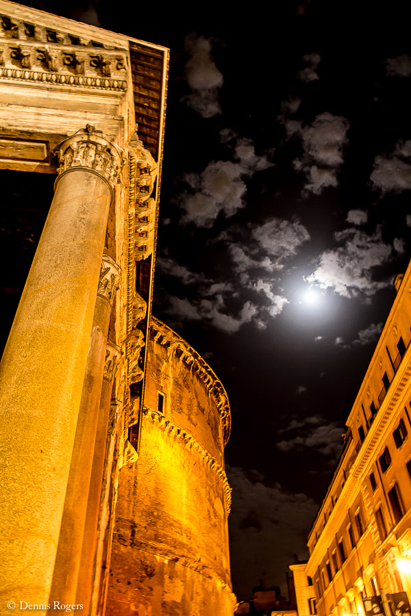 Photograph Roman Night by Dennis Rogers on 500px