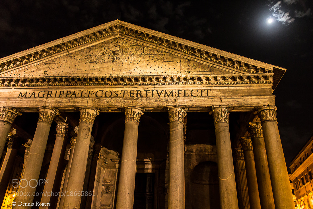 Photograph Pantheon by Dennis Rogers on 500px