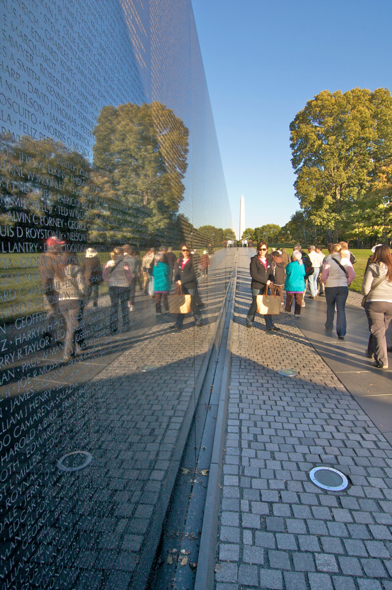 Photograph Vietnam War Memorial by Ron Kaplan on 500px