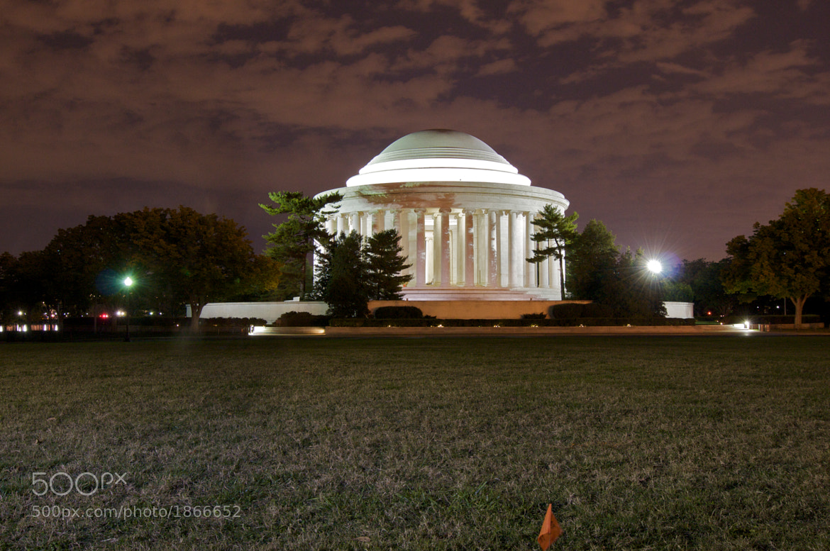 Photograph Jefferson Memorial at Night by Ron Kaplan on 500px