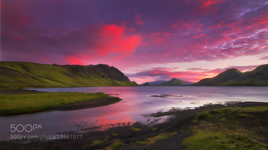 Photograph Alftavatn Glow by Dylan Toh  & Marianne Lim on 500px