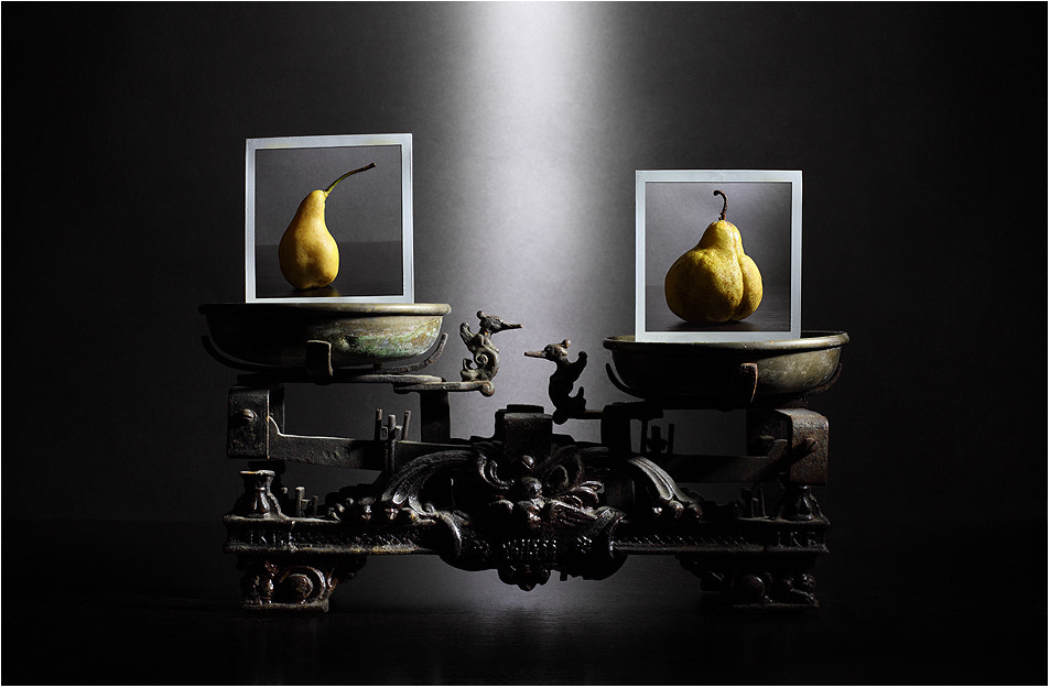 Photograph The big fruit. ComPEAR the pears. by Victoria Ivanova on 500px