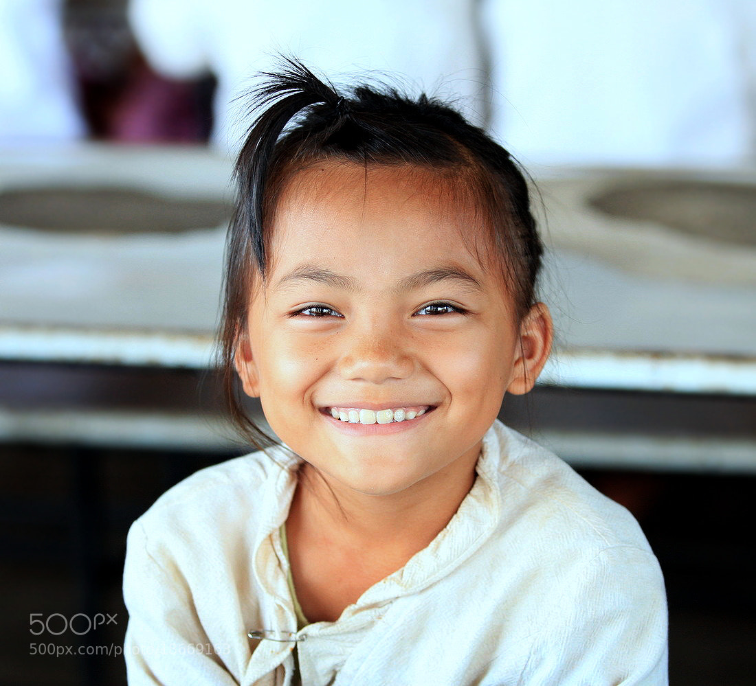 Photograph Pure Smile by Gorn Dechchart-Amorn on 500px
