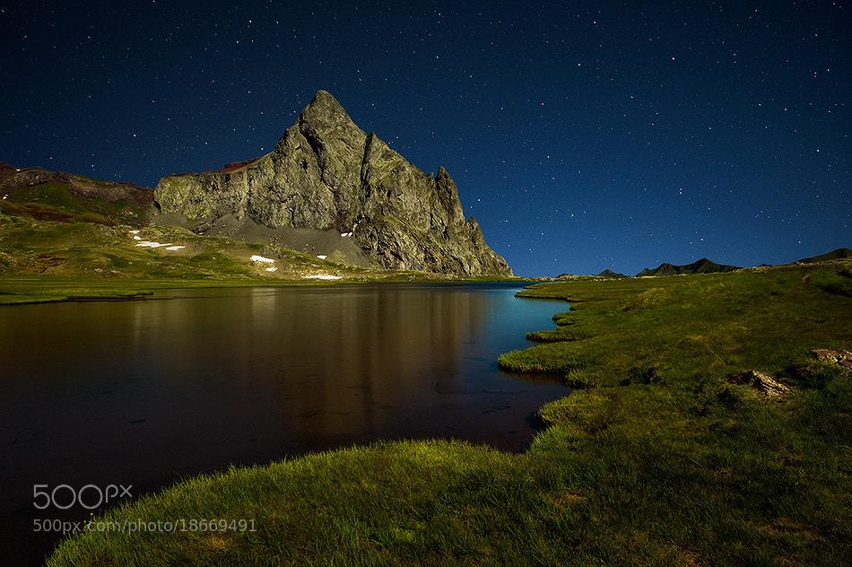 Photograph Anayet night by David Martín Castán on 500px