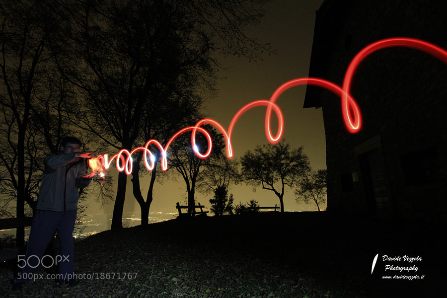 Photograph lightpainting by www.davidevezzola.it Davide Vezzola  on 500px