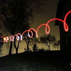lightpainting by www.davidevezzola.it Davide Vezzola  (DV76)) on 500px.com
