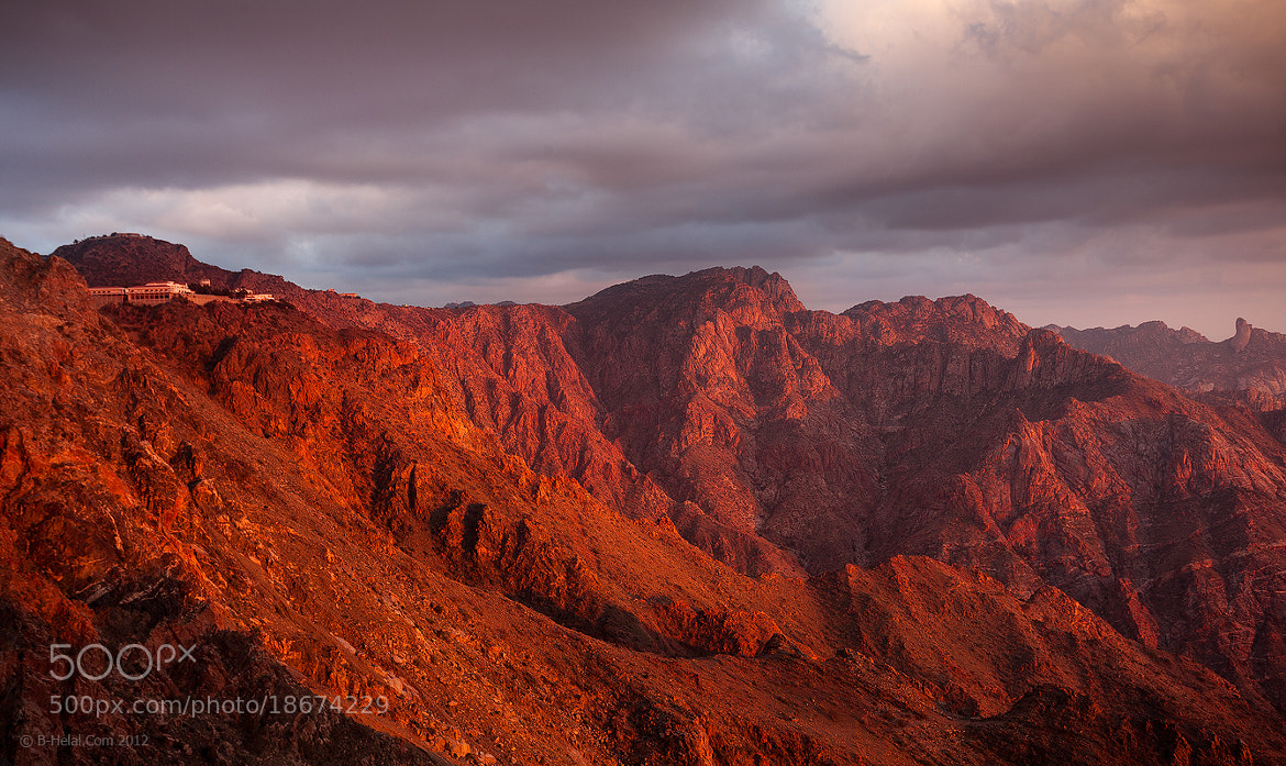 Photograph Golden Mountains by Naja Helal on 500px