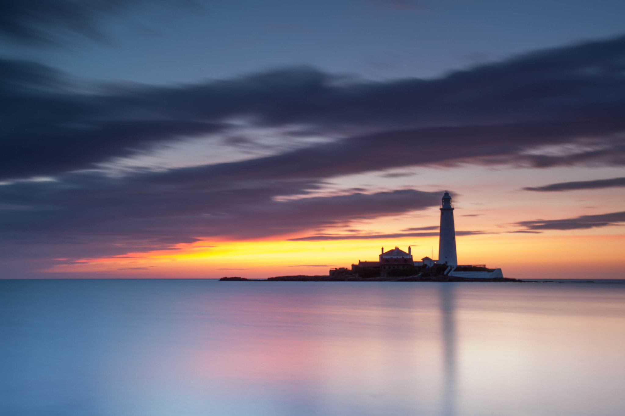 Photograph First Light and Lighthouses by Carl Mickleburgh on 500px