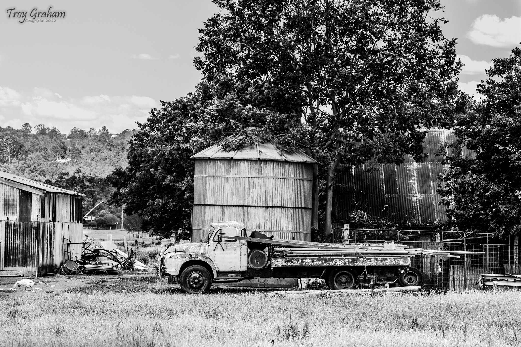 Photograph Old Truck Western by Troy Graham on 500px