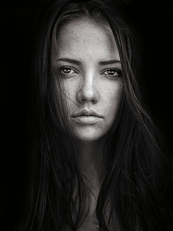 Photograph Nadya in Black by Sean Archer on 500px
