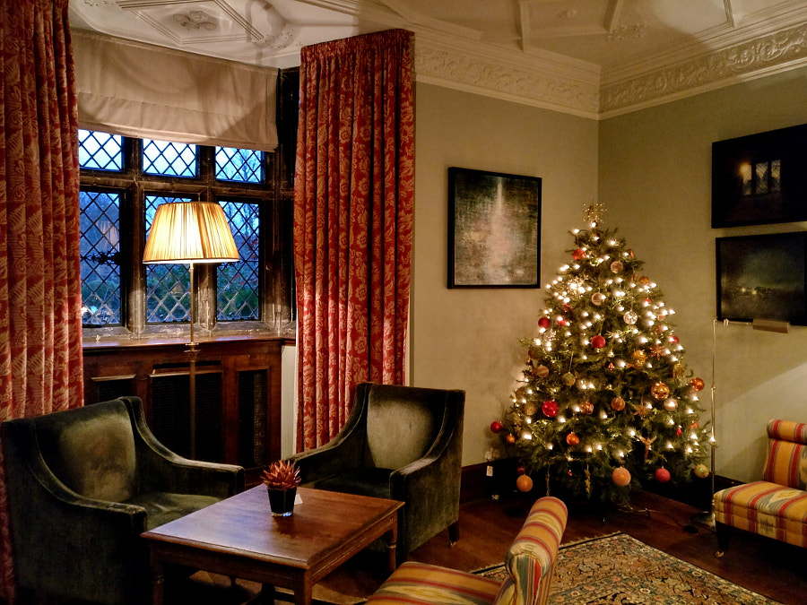 Christmas at Great Fosters, UK by Sandra on 500px.com