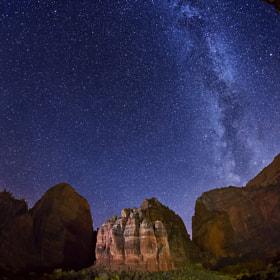 Stars over The Organ by Royce's NightScapes (nightscape)) on 500px.com