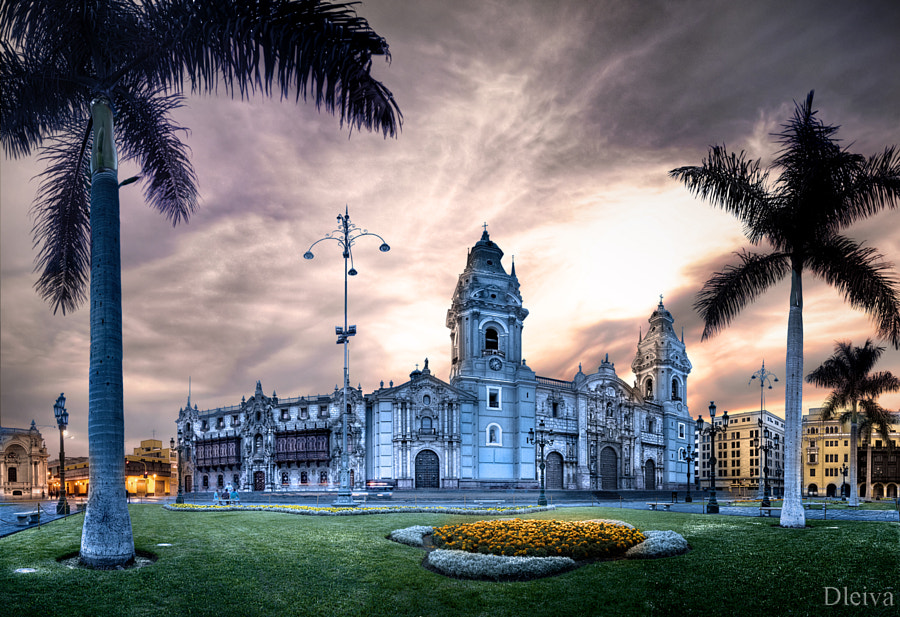 Cathedral of Lima (Peru) by Domingo Leiva on 500px.com