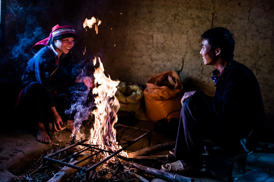 Photograph Hmong Couple starting a fire  by Fang Keong Lim on 500px
